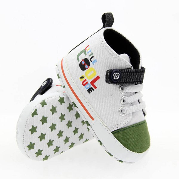 Yeni Ins tuval bebek ayakkabı bebek erkek bebek tasarımcı ayakkabı bebek kız ayakkabı bebek ayakkabı yenidoğan sneakers bebek sneakers 0-1 t A7320