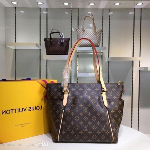 A A A 2019 Nouveau L1ouisvutt0n Femmes Sacs À Main Simple Sac à Bandoulière Sac Paquet De Voyage Shopping Bag Livraison Gratuite Hommes S Sacs M56689 M56689