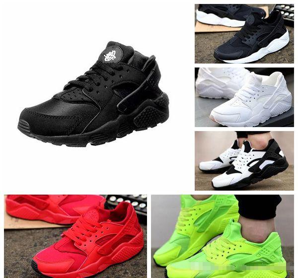 1 New Air Huarache Ultra 4.0 1.0 Chaussures de course Huaraches arc-en-Hurache Breathe Chaussures Grandes enfants Hommes Femmes Huraches Zapatos Baskets Sneakers