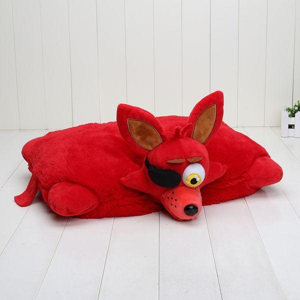 Fnaf Five Nights At Freddy '; S Red White Foxy Mangle Freddy Bear Pesadilla Bonnie Shadow Toys Cojines de peluche Cojines de muñeca