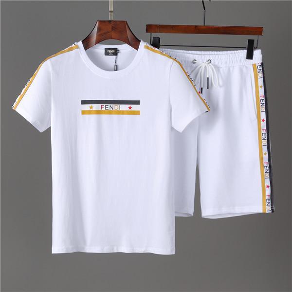 Herren Sommer Kurzarm Fashion Print Set Best Herren Kleid Real Image Brand Herren Casual Set Large Size