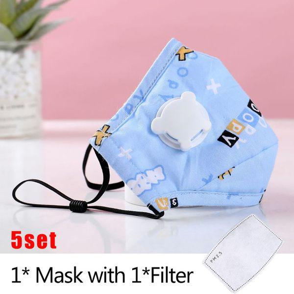 Maske x filter 5 Stücke D