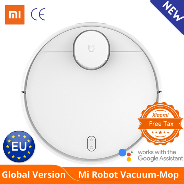 best selling Global Version Xiaomi Mi Robot Vacuum Cleaner Mop Pro Sweep and Drag 3 Mode LDS laser navigation 2100Pa care of Wooden floor