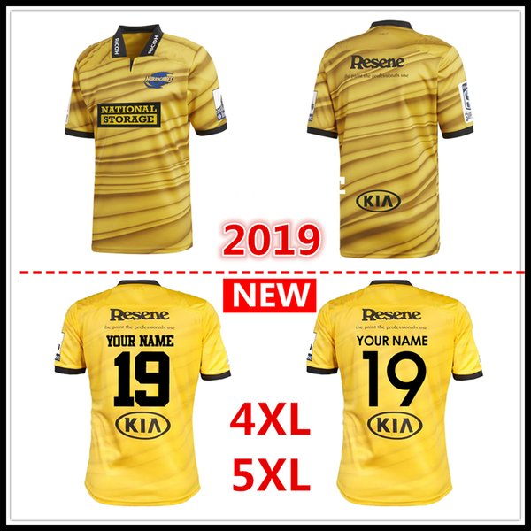 Custom names and numbers 2019 New Zealand Club Hurricanes Jersey League shirt Hurricanes rugby Jerseys shirts s-5xl free shipping