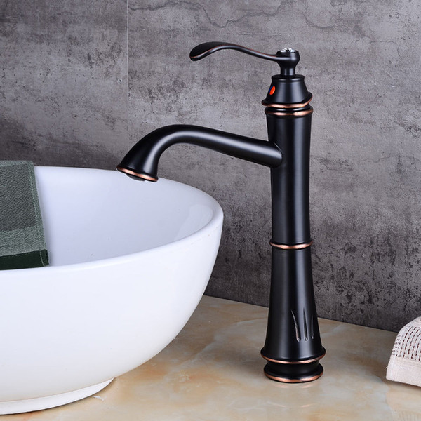 Sensational 2019 Basin Faucets Black Bronze Copper Bathroom Faucet Mixer Vintage Hot And Cold Cock Wash Basin Mixer Taps Sink Single Handle Crane From Sheiler Download Free Architecture Designs Intelgarnamadebymaigaardcom
