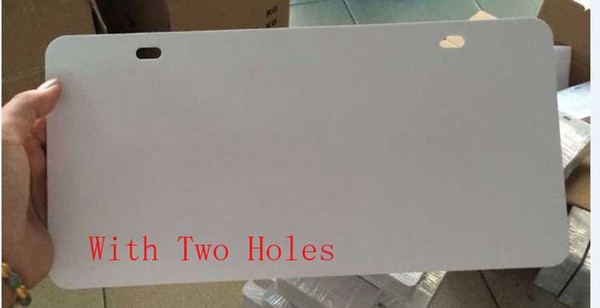with two holes