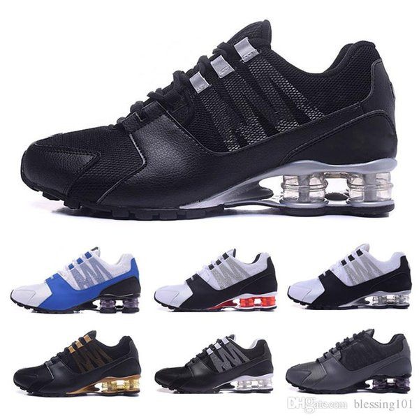 Wholesale 2019 Shox Mens Running Shoes Top Fashion Chaussures SHOX DELIVER OZ Hommes Athletic Sneakers Sports EUR Size 7-11