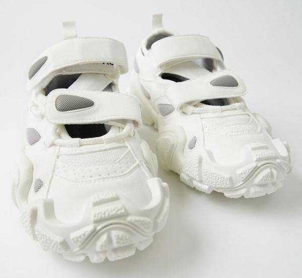 2019 Yeni Trip-S Lüks Tasarımcı Bayan Ayakkabı Akne Marka Vintage Eski Baba Ayakkabı Rahat Cırt Kalın soled Femme Moda Sneaker Trainser