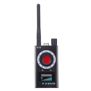 Portable 1MHz-6.5GHz K18 Wireless Meter Counter Anti Mini Camera Scanner RF Signal Detector Finder for Personal Home Security Applications
