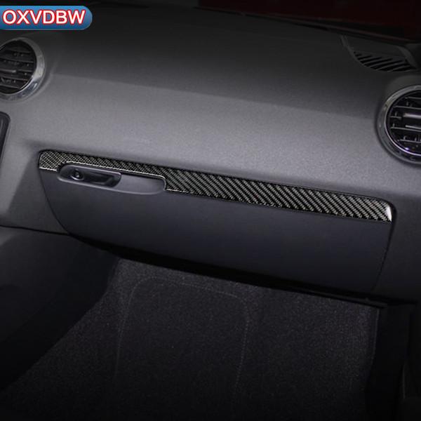 For Audi TT Car Sticker Styling 8n 8J MK123 TTRS LHD RHD Accessories Carbon Fiber Accessory Driver Decoration Strip Frame 2008-2014