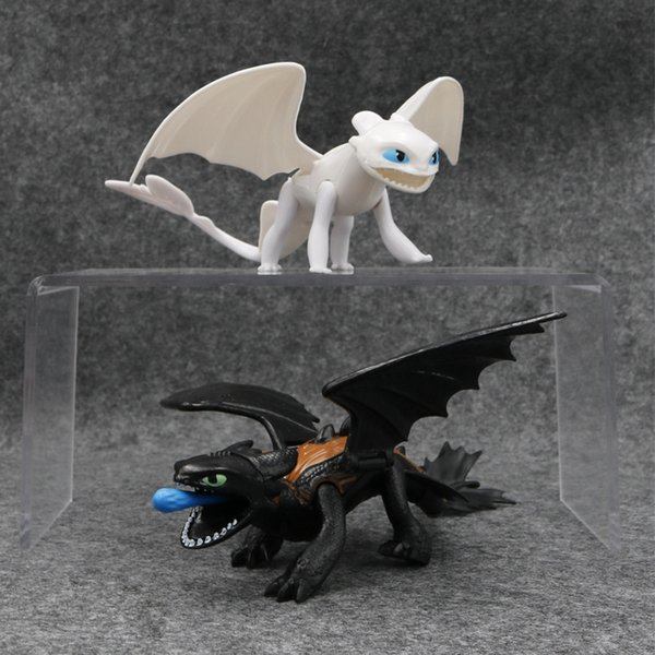 How To Train Your Dragon 3 Action Figures Toys Toothless Gronckle Deadly Nadder Night Fury Toothless Dragon Novelty Items CCA11662 20set