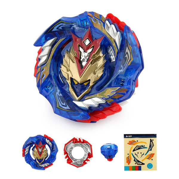 top popular 4D Beyblade Burst B-127 CHO-Z VALKYRIE.Z.Ev without Launcher and Box Metal Booster Starter Gyro Spinning top Fighting Toys 2019