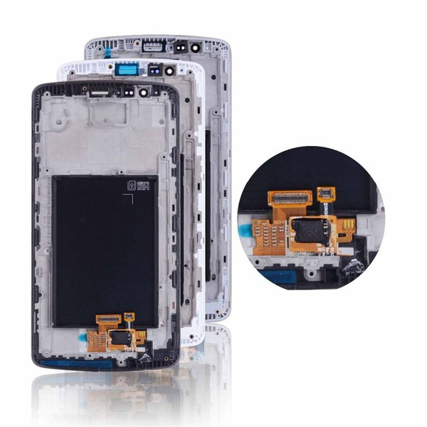 Original Screen For LG G3 LCD D850 LCD Display Touch Screen Digitizer Assembly With Frame Replacement G3 D851 D855 LCD Display