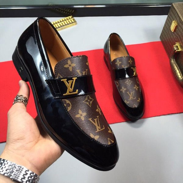 Erkekler Satılık Erkekler Ayakkabı Moda Germain Loafer Haussmann Derby Moda Lüks Tasarım Klasik Deri Casual Tasarım Lüks Sıcak Elbise Ayakkabı