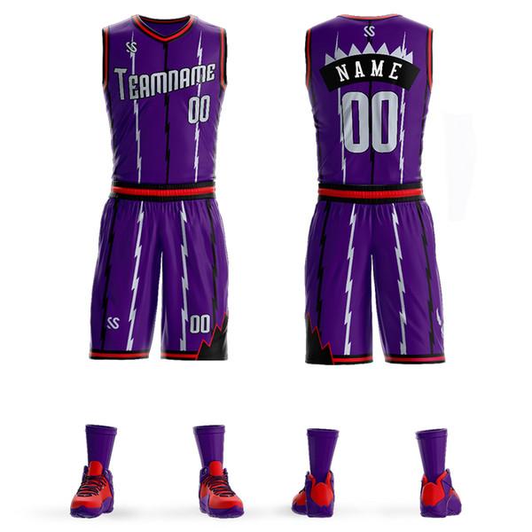 502babd27 Custom Mens Basketball Jersey Sets DIY Uniforms Kits Lorenzo Greg Monroe Boys  Sports Clothing Breathable Customized