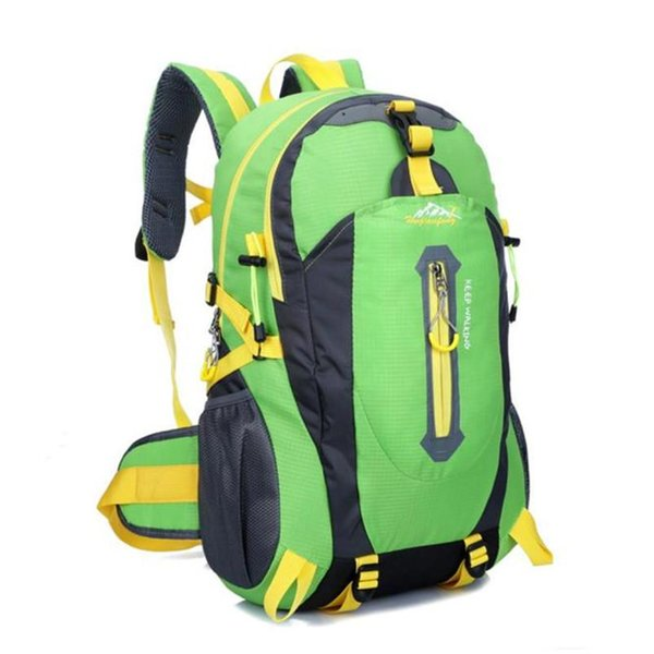 Outdoor Backpack Bag Hiking Camping Waterproof Nylon Travel Luggage Rucksack Backpack Bag Bicycle Cycling Equipment #5O08-4