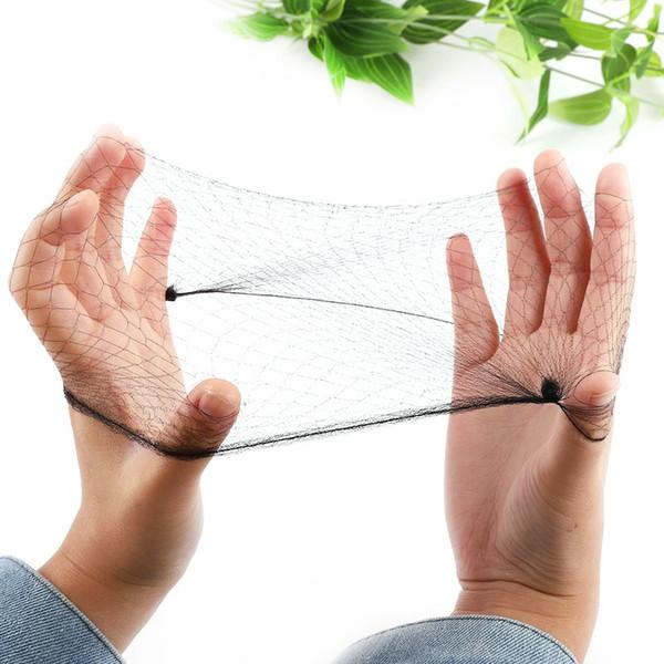 Fashion 20pcs/lot Hair net elastic net Small Hole mesh Nylon Stretch Weaving Mesh for Girl Hairwear