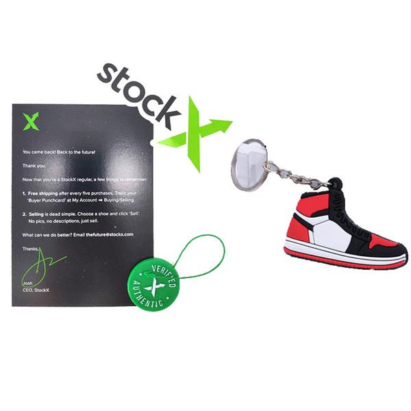 Stockx etiketi + Anahtarlık ile