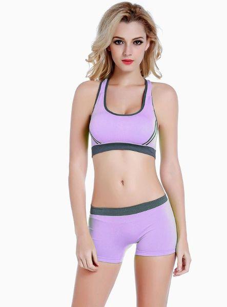 purple bra short