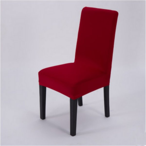 Brilliant Removable Chair Cover Spandex Stretch Dining Seat Cover Banquet Wedding Restuarant Decoration Eparcel Linen Chair Slipcover Rent Chair Covers For Ibusinesslaw Wood Chair Design Ideas Ibusinesslaworg