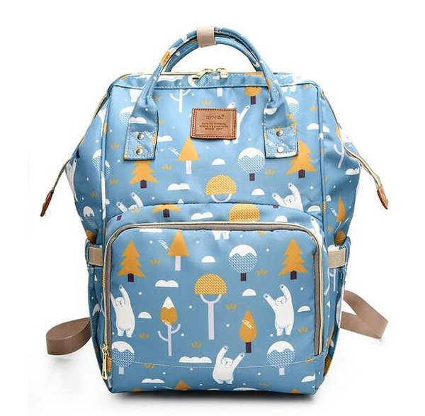 Mommy Diaper Bag Large Capacity Baby Nappy Bag Designer Nusing Fashion Travel Backpack Baby Care for Mother Kid