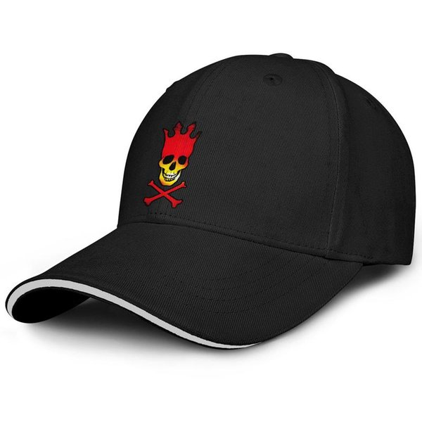 Fit Men Women ball cap Pearl jam skull cd cover fitted baseball hats Relaxed hats 100% Cotton