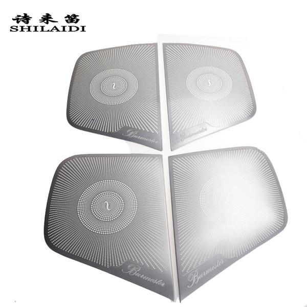 Car Styling Audio Speaker Door Loudspeaker Trim Cover Stickers For Mercedes Benz A GLA CLA Class W176 X156 C117 Auto Accessories