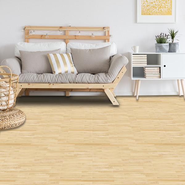 Yellow Wood Grain Self Adhesive Floor Sticker Vinyl Wallpaper Home Decor PVC Waterproof Contact Paper For Bathroom Kitchen