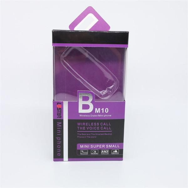 top popular l8star BM10 mini phone bluetooth Dialer headphones with voice change dual SIM card mini mobile phones for kids DHL Free 2021
