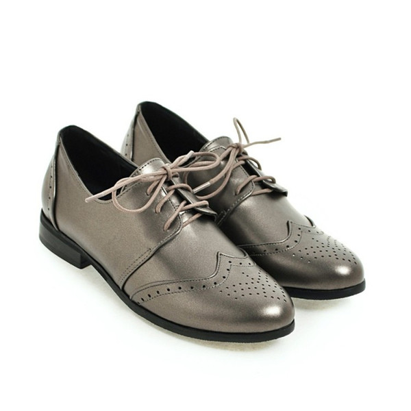 4df176ccdde39 Favofans Hot Sale Womens Ladies Girls Classic Lace Up Saddle Shoes Size FF  S1036 Black, Silver, Beige Suede Shoes Shoe Sale From Favofans, $29.45| ...