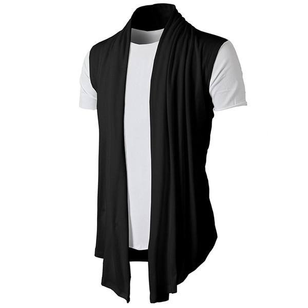 Nuovi uomini vendita calda promozione estate giacca cappotto scialle moda cardigan gilet senza maniche maglia top nave vestiti di goccia