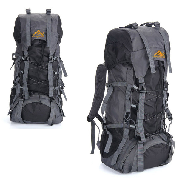 Y0897C 55L Outdoor Sport Backpack Hiking Trekking Bag Camping Travel Water-resistant Pack Mountaineering Climbing Knapsack