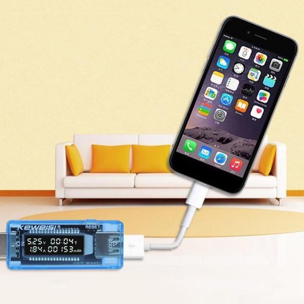 Voltímetro Power Bank USB Probador de batería Volt Voltaje de corriente Doctor Herramienta de diagnóstico Cargador Probador de capacidad Medidor Amperímetro