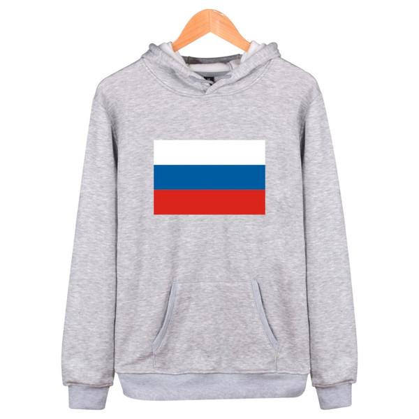 Bandeira da Federação russa Inverno hoodies Homens Moda 4Xl Plus Size Moletom Homens Hip Hop Casual Preto Vermelho Vermelho Roupas Engraçadas