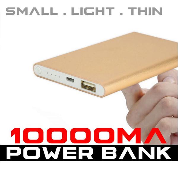 New Meta Case Ultra Thin Power Bank 10000mah Universal powerbank Portable Mobile Phone External Charging Battery Backup Pack Retail Package