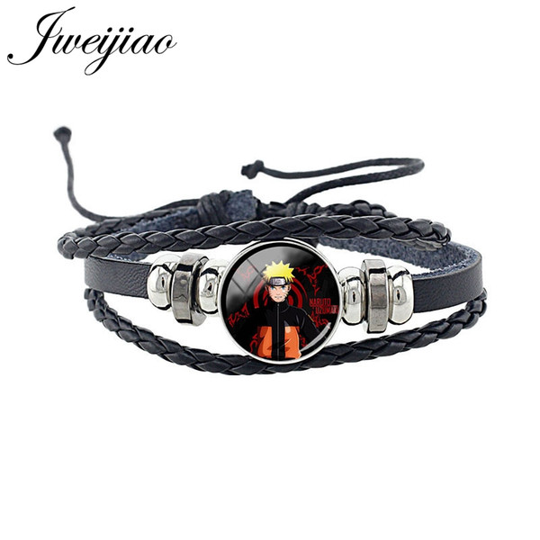 2019 Japan Anime Characters Pu Leather Bangles One Piece Black Butler Death Note Monkey D Luffy Students Boys Jewelry Na54 From Geraldgreen 33 4