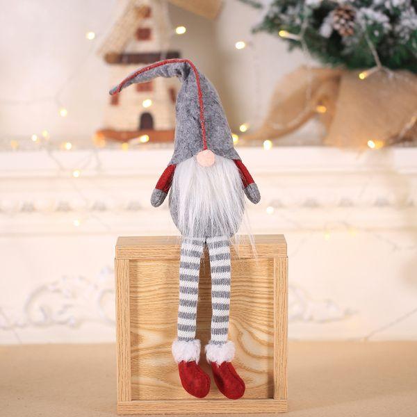 1pc Vintage Christmas Santa Claus Pendants Ornaments DIY Crafts Xmas Snowflake Tree Ornaments Christmas Party Decor Kids Gifts