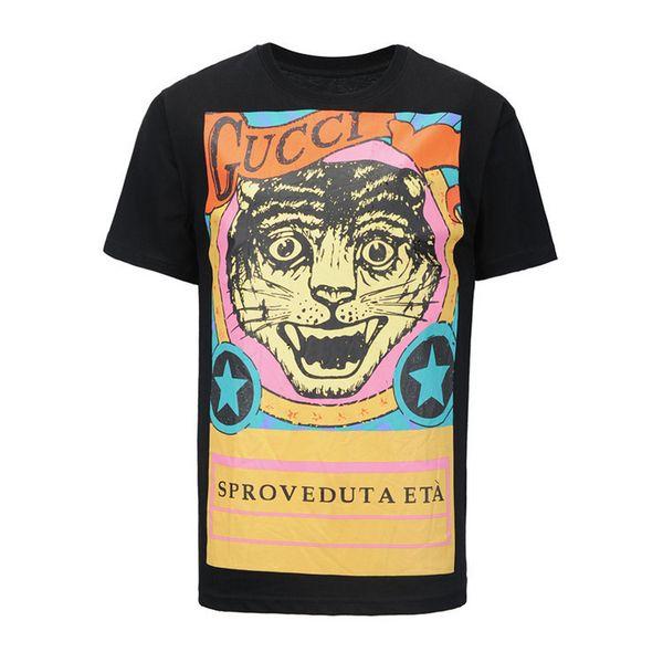 Bütün Pamuk Kaliteli erkek Giyim Yaz Kısa Kollu T Moda Boş Zaman Büyük Kod Yazım Renk T-Shirt Dip