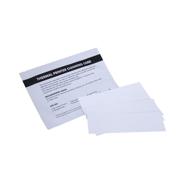 2019 Thermal Printer Printhead Cleaning Cards 2x6 Bluetooth Portable  Thermal Printer Bixolon Citizen From Rowayrf, $7 54 | DHgate Com
