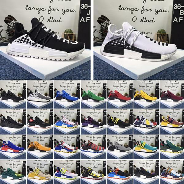 bo 45751802 ayakkabılar Pharrell Williams BBC barış yeşil kareli mavi spor ayakkabı tasarımcısı bayanlar spor ayakkabıları çalışan NMD yeni bir insan spor erkek