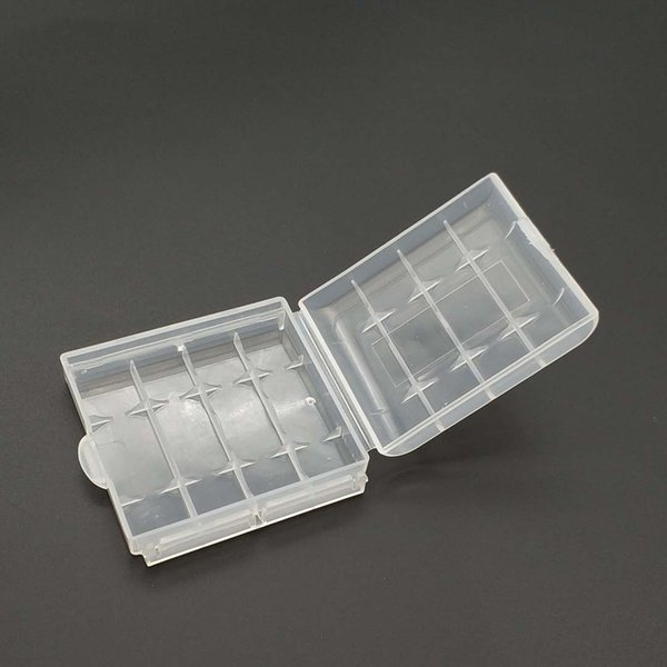 Plastic Case Holder Storage Box Cover for 10440 14500 AA AAA Battery Box Container Bag Case Organizer Box Case