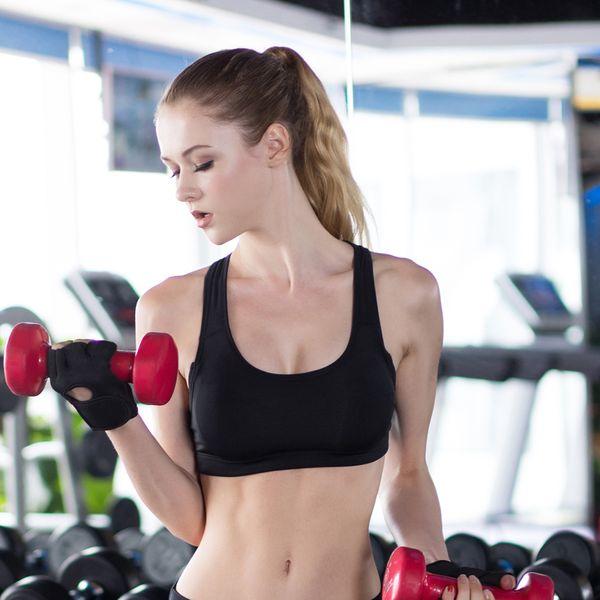 2019 Menor Preço Acolchoado Sutiã Esportivo, Yoga Sutiã Respirável Underwear, Colete Atlético Ginásio de Fitness Em Execução Colete Tops Top Feminino