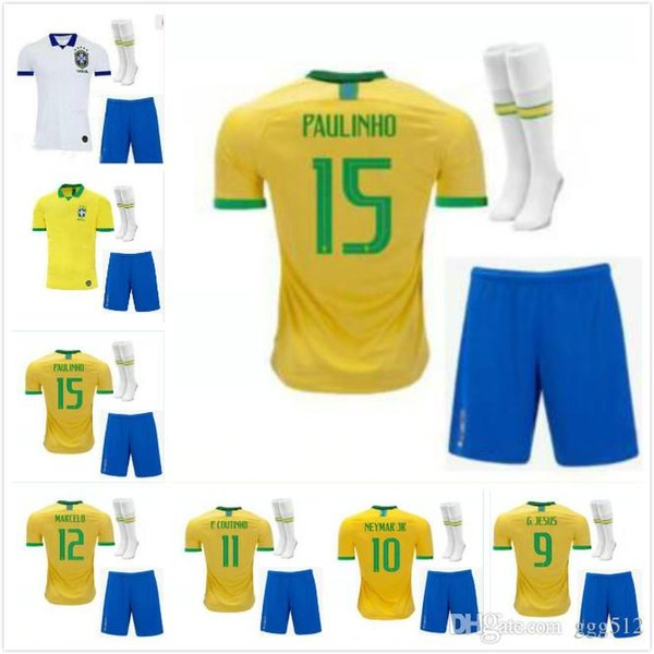 Brasil Soccer Sock Size 9-11