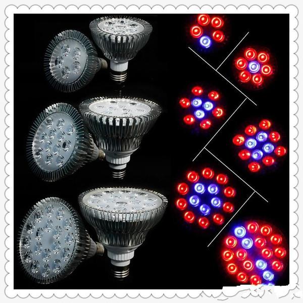 LED cresce luzes 21W 27W 36W 45W 54W LED E27 Grow Lâmpada PAR 38 30 Bulb Para Flor da planta de hidroponia Sistema crescer Box Spotlight