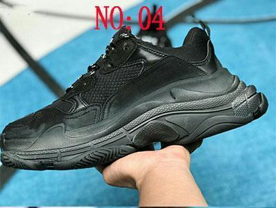 Multi Luxury Triple S Designer Low New Arrival Sneaker Combination Soles Boots Hombres Mujeres Runner Shoes Top Quality Sports Casual Shoe