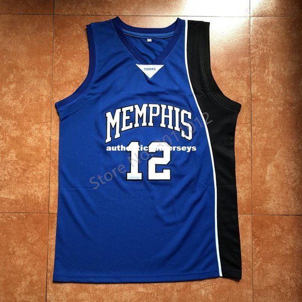 Vintage Tyreke Evans #12 Tigers College basketball jersey all size Embroidery Stitched Top Quality XS-6XL vest Jerseys Ncaa