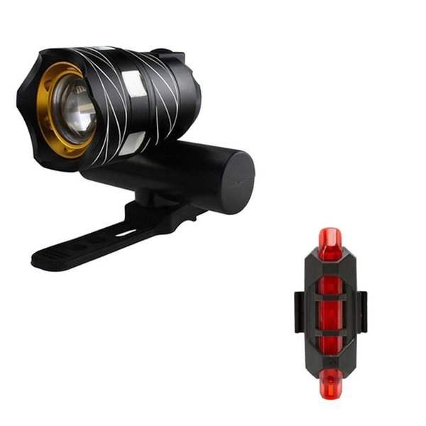 3 Modes 3000mAh Battery USB Rechargeable XML T6 LED Bike Bicycle Head Lights