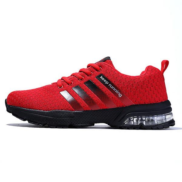 gym Explosive Summer Fashion Air Cushion Men's Shoes Air-permeable Mesh Sports Shoes Flying Weave Running Shoes Factory Direct Sales
