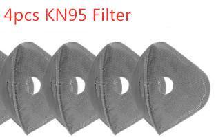 4pcs reemplazado filtros