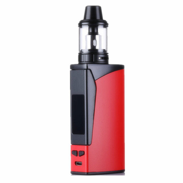 New Seal 100w kit vape 3000mah con LED Screen Box caricatore USB Forma Penna E Cig Smoke Vapour enorme sigaretta elettronica Vape Kit